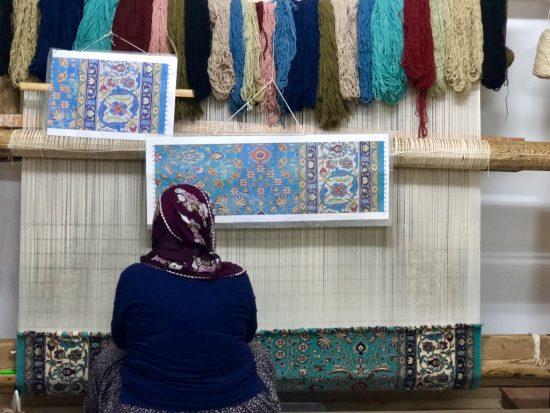 İlmek İlmek Emek- Carpet Making in Cappadocia
